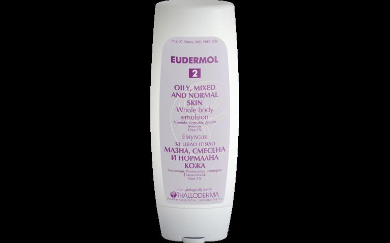 EUDERMOL® 2 мазна, смесена и нормална кожа
